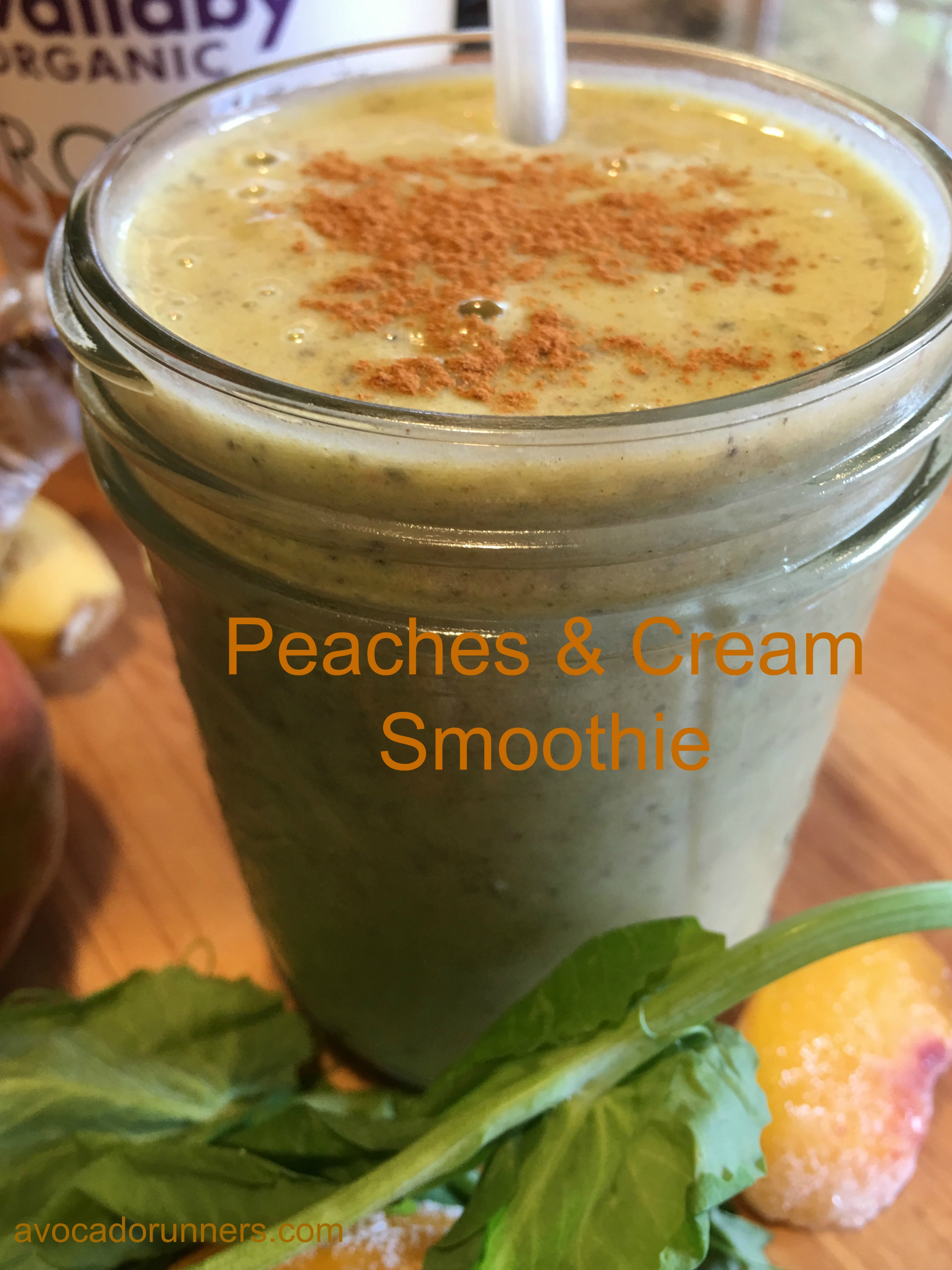 Peaches and Cream Smoothie1