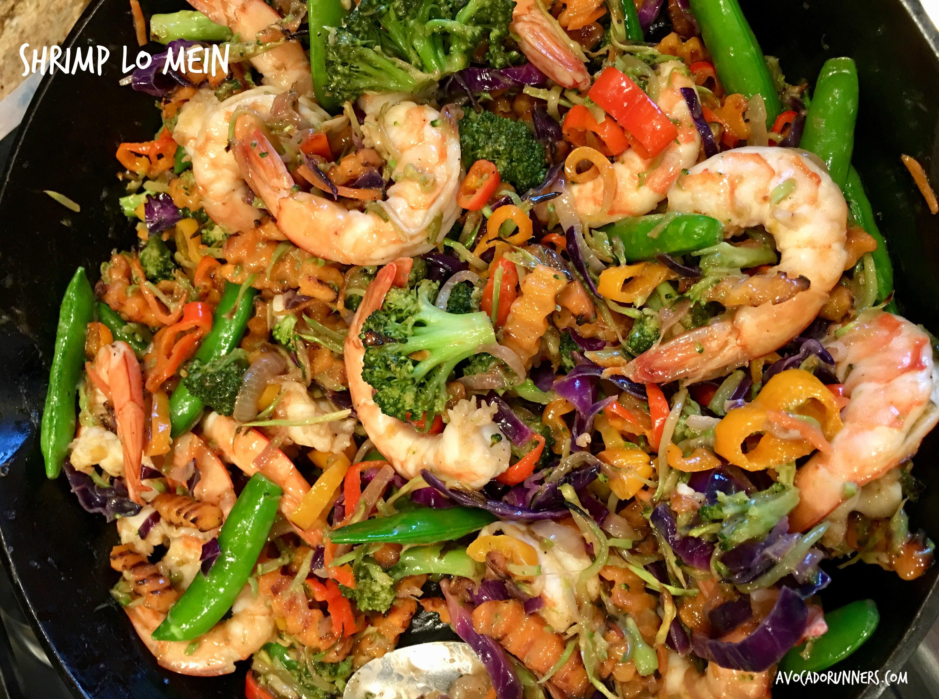 Best Whole30 Shrimp Lo Mein Avocado Runners